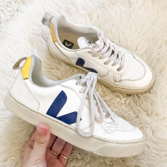 Veja Shoes | Kids V10 White Sneakers